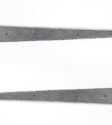 "From The Anvil Pewter 18"" T Hinge (pair)"