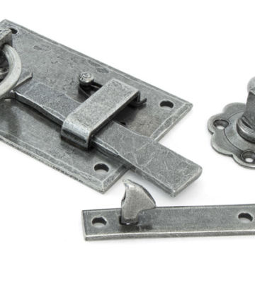 From The Anvil Pewter Cottage Latch – LH