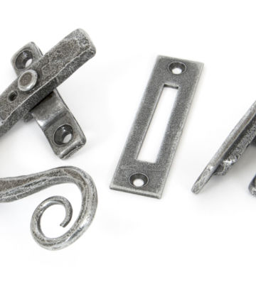 From The Anvil Pewter Monkeytail Fastener LH – Locking