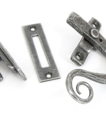 From The Anvil Pewter Monkeytail Fastener RH – Locking