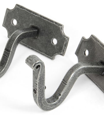 From The Anvil Pewter Mounting Bracket (pair)