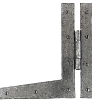 """From The Anvil Pewter Patina 9"""" HL Hinge (pair)"""