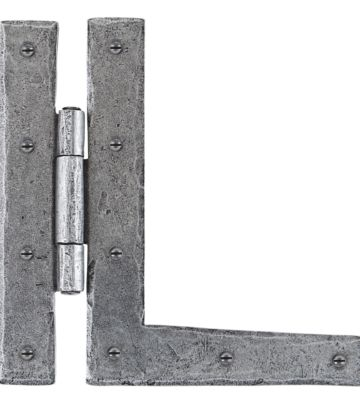 """From The Anvil Pewter 7"""" HL Hinge (pair)"""