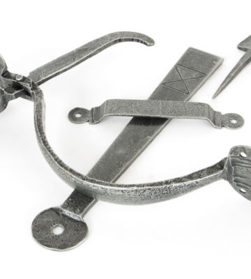 From The Anvil Pewter Heavy Bean Thumblatch