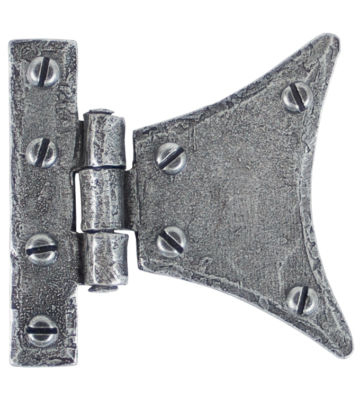 "From The Anvil Pewter 2"" Half Butterfly Hinge (pair)"