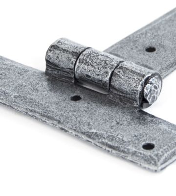 From The Anvil Pewter 9″ T Hinge (pair)