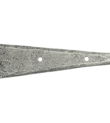 """From The Anvil Pewter 9"""" Arrow Head T Hinge (pair)"""