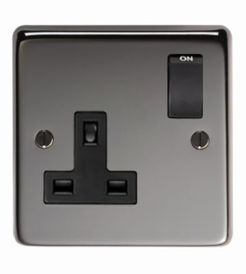 From The Anvil BN Single 13 Amp Switched Socket