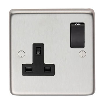 From The Anvil SSS Single 13 Amp Switched Socket