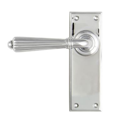 From The Anvil Polished Chrome Hinton Lever Latch Set