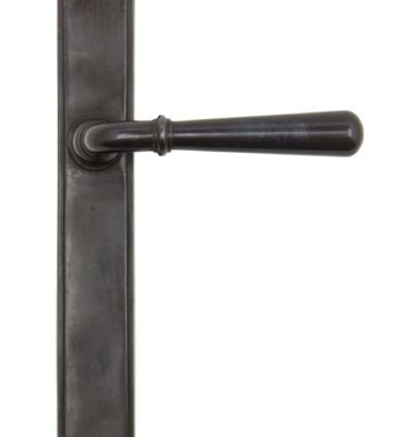 From The Anvil Aged Bronze Newbury Slimline Lever Latch Set