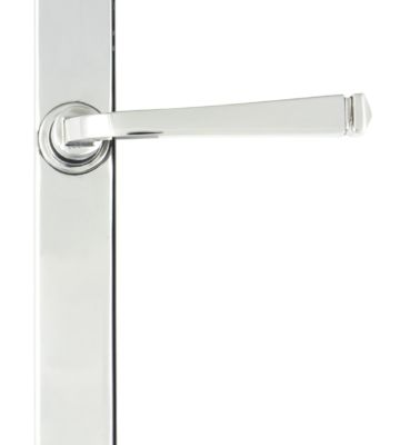 From The Anvil Polished Chrome Avon Slimline Lever Latch Set
