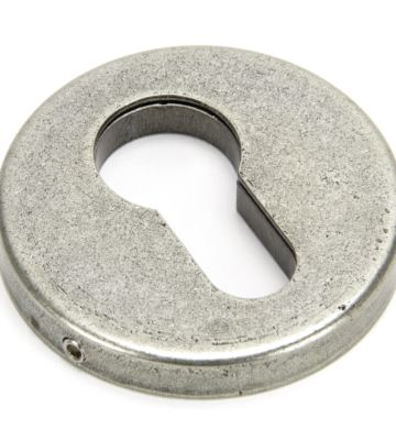 From The Anvil Pewter 52mm Regency Concealed Escutcheon