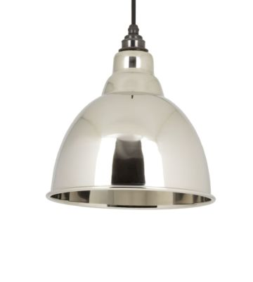 From The Anvil Smooth Nickel Interior Brindley Pendant