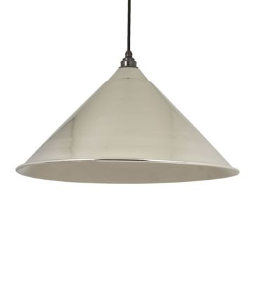 From The Anvil Smooth Nickel Hockley Pendant