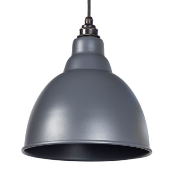 From The Anvil Dark Grey Full Colour Brindley Pendant