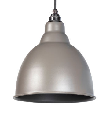 From The Anvil Warm Grey Full Colour Brindley Pendant