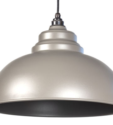 From The Anvil Warm Grey Full Colour Harborne Pendant
