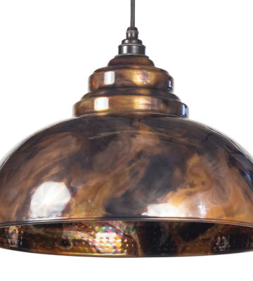 From The Anvil Burnished Harborne Pendant
