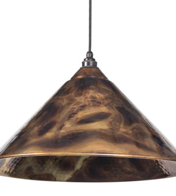 From The Anvil Burnished Hockley Pendant