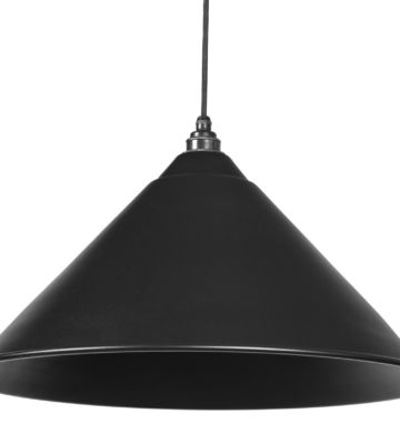 From The Anvil Black Full Colour Hockley Pendant