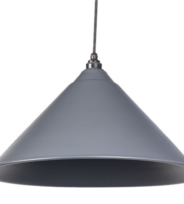 From The Anvil Dark Grey Full Colour Hockley Pendant