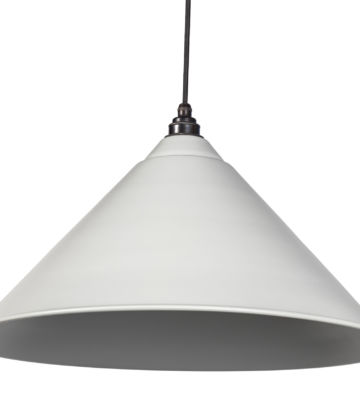 From The Anvil Light Grey Full Colour Hockley Pendant