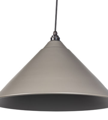 From The Anvil Warm Grey Full Colour Hockley Pendant