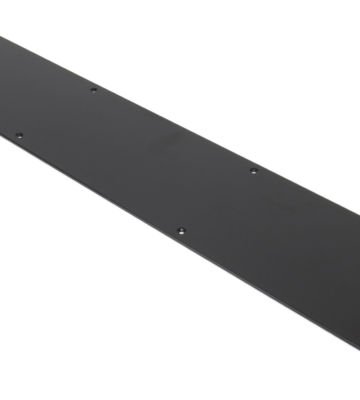 From The Anvil Black Kick Plate – Large