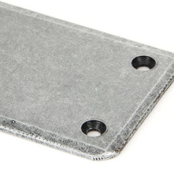 From The Anvil Pewter Fingerplate – Large