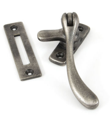 From The Anvil Antique Pewter Peardrop Fastener
