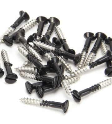 From The Anvil Black SS 3.5 X 25mm Countersunk Raised Head Screws (25)