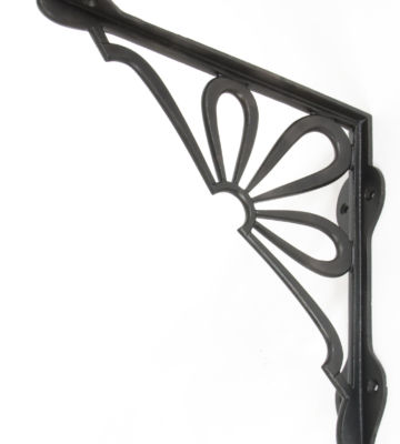 From The Anvil Beeswax 9″ X 9″ Flower Shelf Bracket