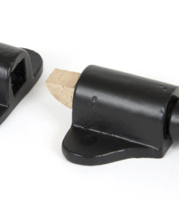 From The Anvil Fanlight Catch & Two Keeps – Black