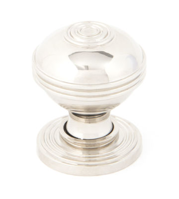 From The Anvil Polished Nickel Prestbury Cabinet Knob – Small