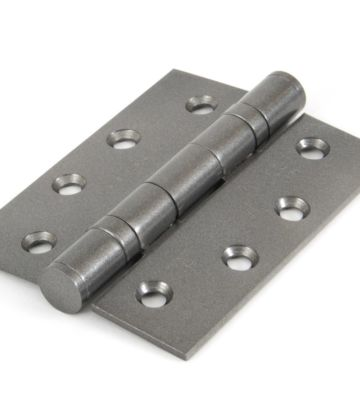 From The Anvil Pewter 4″ Ball Bearing Butt Hinge (Pair)