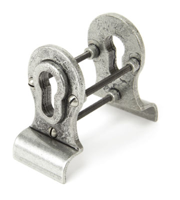 From The Anvil Pewter Euro Door Pull – Back-to-back Fixing