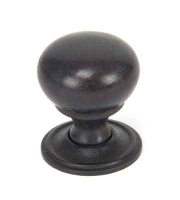 From The Anvil Aged Bronze Mushroom Cabinet Knob – Small