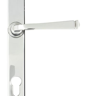 From The Anvil Polished Chrome Avon Slimline Lever Espag. Lock Set