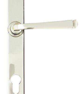 From The Anvil Polished Nickel Avon Slimline Lever Espag. Lock Set