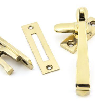 From The Anvil Aged Brass Locking Avon Fastener
