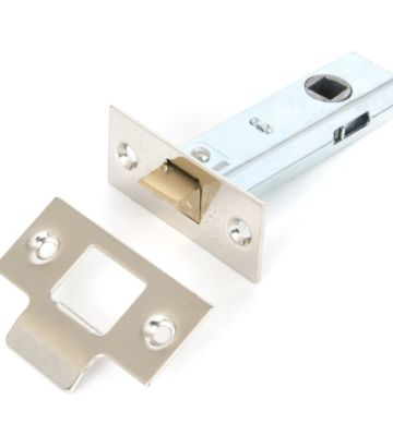 """From The Anvil Nickel 3"""" Tubular Mortice Latch"""