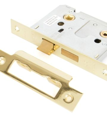 From The Anvil Electro Brass 3″ Bathroom Mortice Lock