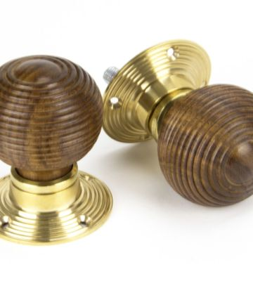 From The Anvil Rosewood And PB Cottage Mortice/Rim Knob Set – Small