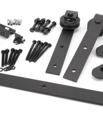 From The Anvil 100kg Sliding Door Hardware Kit (2m Track)
