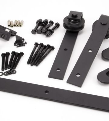 From The Anvil 100kg Sliding Door Hardware Kit (3m Track)