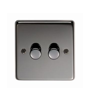 From The Anvil BN Double LED Dimmer Switch