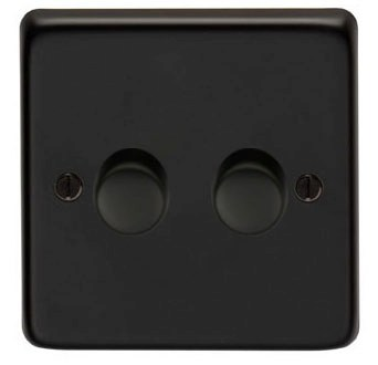 From The Anvil MB Double LED Dimmer Switch