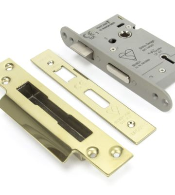 From The Anvil PVD 3″ BS Heavy Duty BS Sash Lock KA