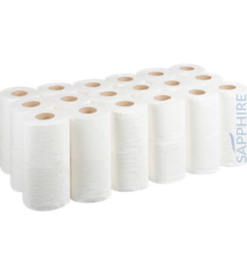 White Toilet Roll – Pack Of 40